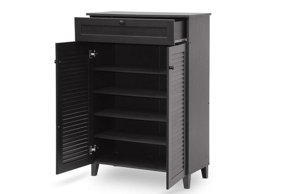 Jacon Espresso Shoe-Storage Cabinet - living-essentials