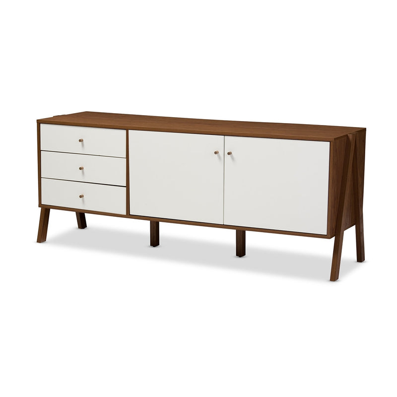 Hadley Scandinavian Style Wood Sideboard Storage Cabinet - living-essentials