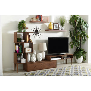 Haden Mid-Century Modern Entertainment Center Tv & Display Stand Stands Free Shipping