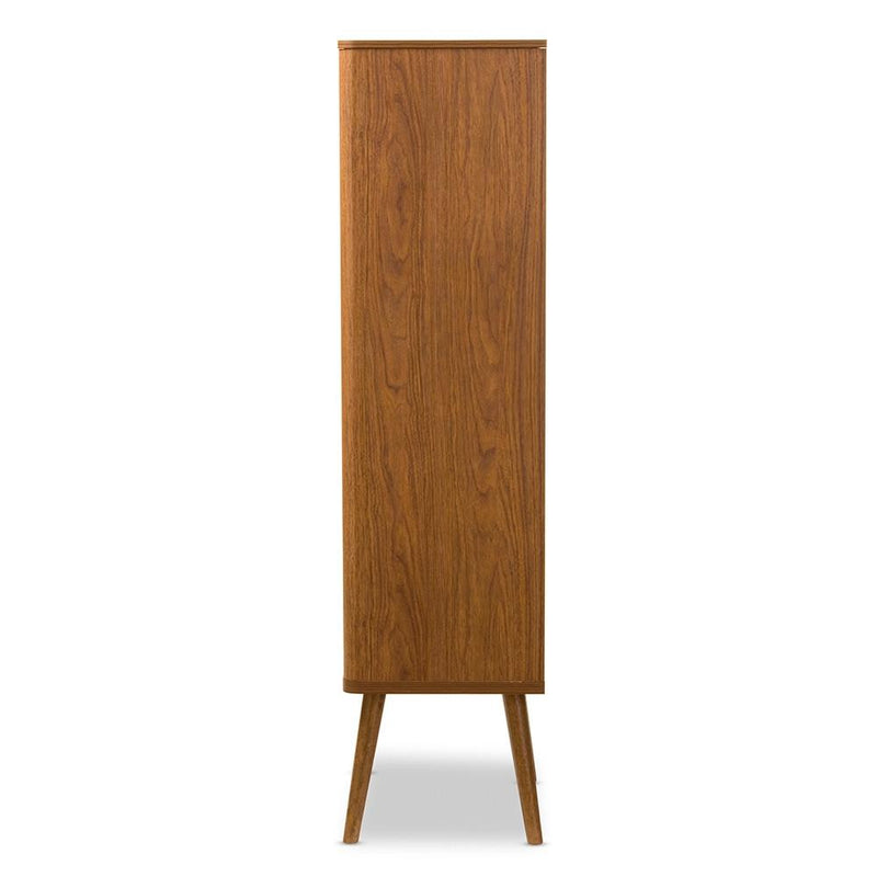 Beckham Mid Century Bookcase - living-essentials