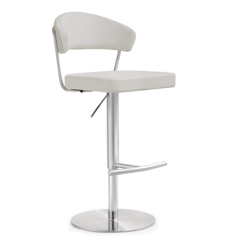 Cosmo Stainless Steel Barstool - living-essentials