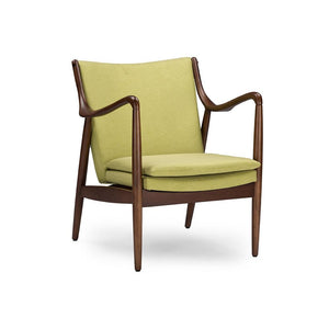 Romeo Retro Lounge Chair Green Chairs Free Shipping