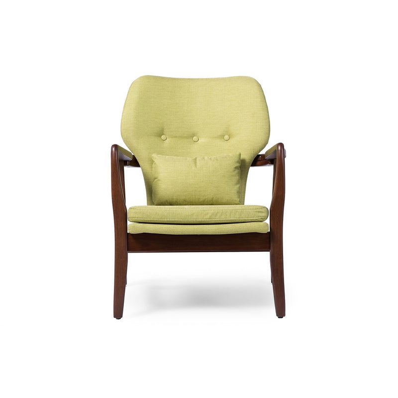 Randy Retro Green Lounge Chair - living-essentials