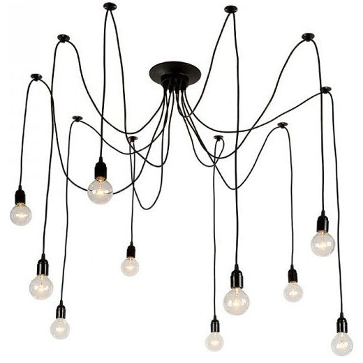 Octopus Industrial Chandelier - living-essentials