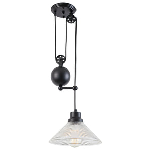Technician Industrial Pulley Pendant Ceiling Lamps Free Shipping