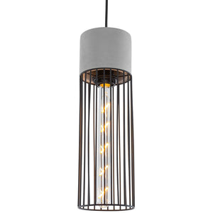Wayne Industrial Ceiling Lamp Gray Lamps Free Shipping
