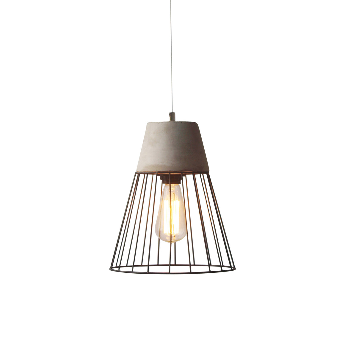 Birdie Caged Ceiling Lamp Gray/matte Black Lamps Free Shipping
