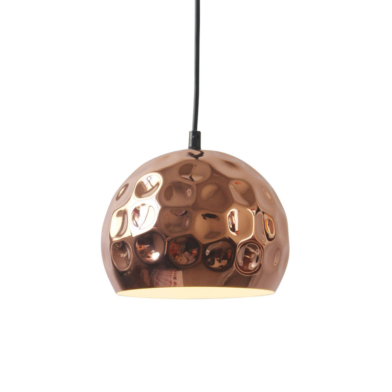 Tuque Copper Ceiling Lamp - living-essentials