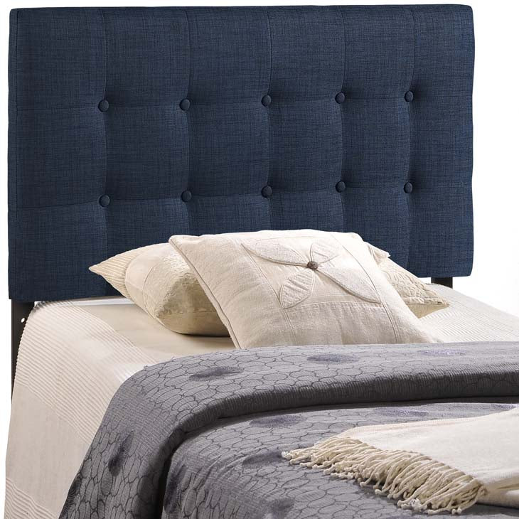 Willow Twin Fabric Headboard - living-essentials