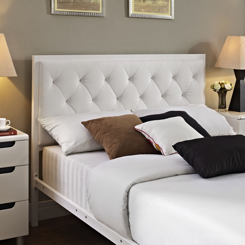 Milan Queen Fabric Bedframe - living-essentials