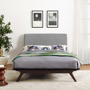 Truman Mid Century Queen Bed Frame Frames Free Shipping