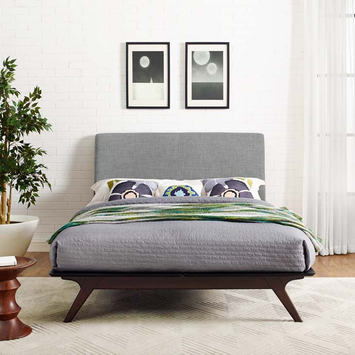 Truman Mid Century Queen Bed Frame - living-essentials
