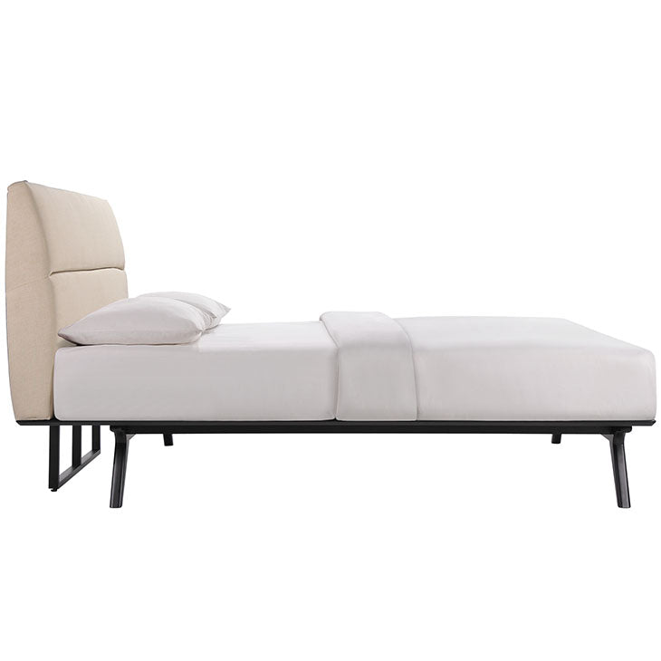 Madison Mid-Century Full Bed Frame - living-essentials
