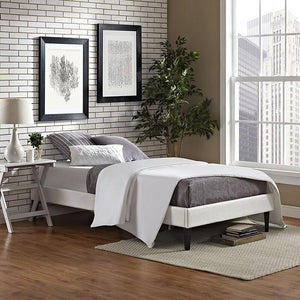 Rose Twin Vinyl Bed Frame Frames Free Shipping