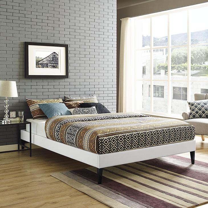 Rose King Vinyl Bed Frame - living-essentials