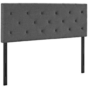 Griffin King Fabric Headboard Headboards Free Shipping