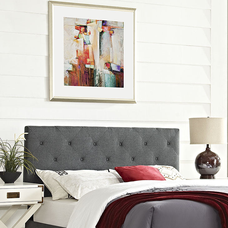 Griffin King Fabric Headboard - living-essentials