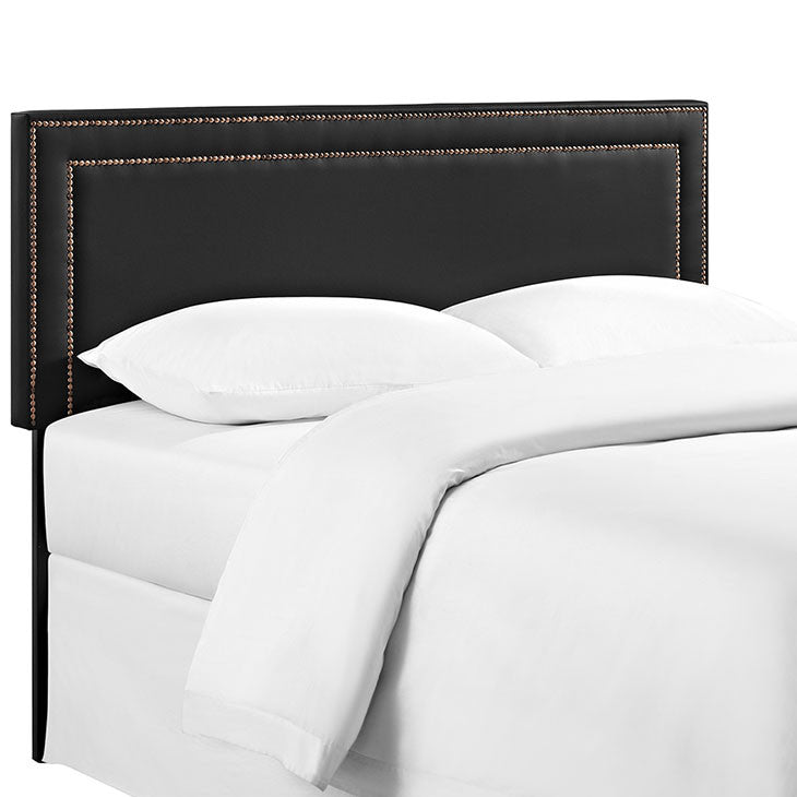 Jasmine King Vinyl Headboard - living-essentials