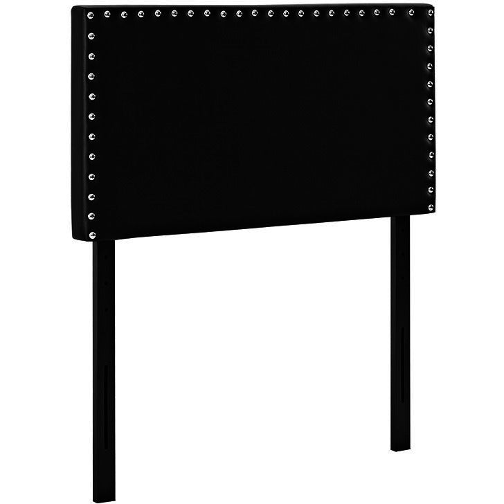 Lisa Twin Vinyl Headboard - living-essentials