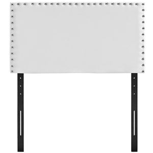 Lisa Twin Vinyl Headboard Headboards Free Shipping