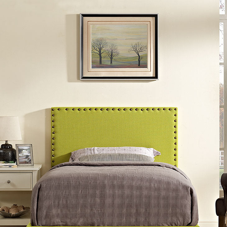 Lisa Twin Fabric Headboard - living-essentials