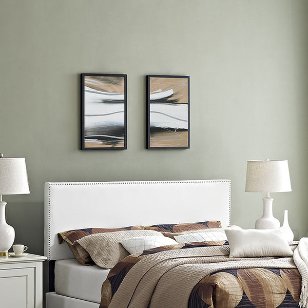 Lisa Full Vinyl Headboard - living-essentials