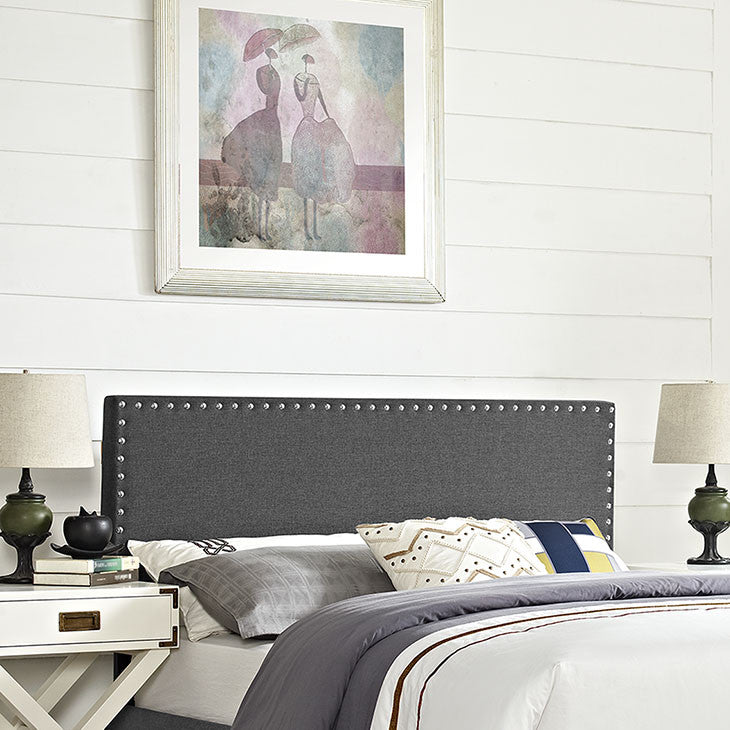 Lisa Full Fabric Headboard - living-essentials