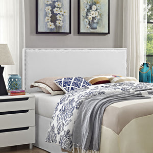 Lisa Queen Vinyl Headboard Headboards Free Shipping