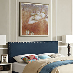 Lisa Queen Fabric Headboard Azure Headboards Free Shipping