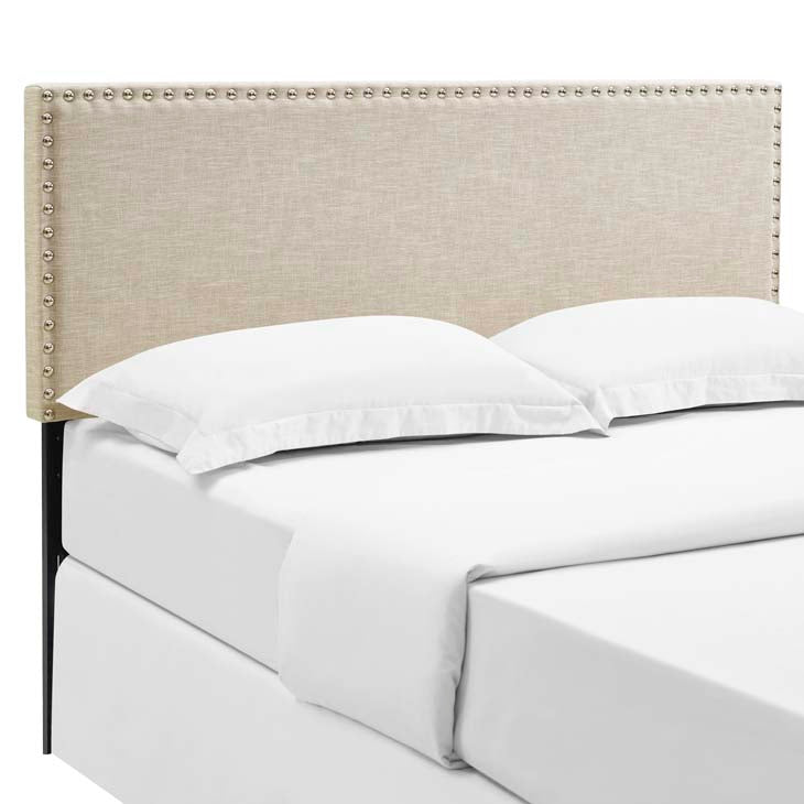 Lisa Queen Fabric Headboard - living-essentials