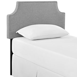 Lauren Twin Fabric Headboard Headboards Free Shipping