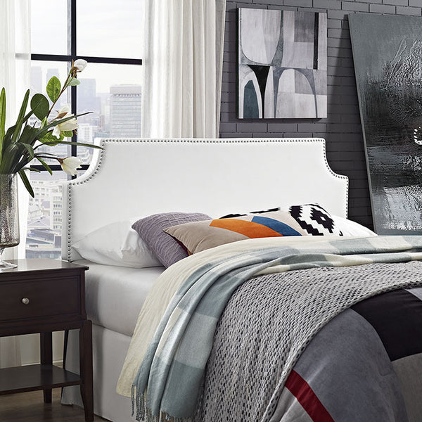Lauren Queen Vinyl Headboard - living-essentials