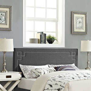 Ivy King Fabric Headboard Headboards Free Shipping