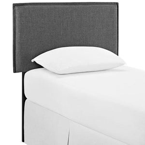 Chameleon Twin Fabric Headboard Azure Bed Frames Free Shipping