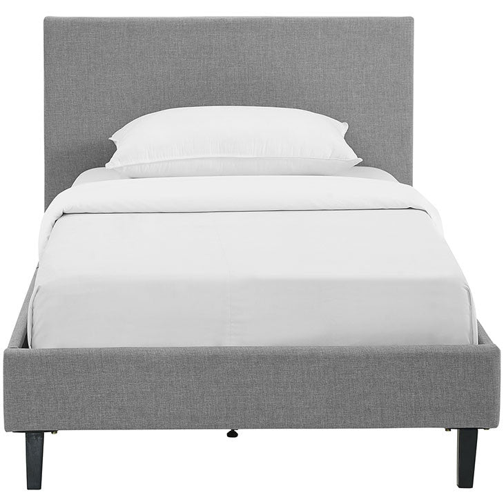 Emma Twin Fabric Bed Frame - living-essentials