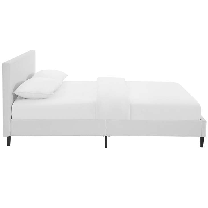 Emma Full Vinyl Bed Frame - living-essentials