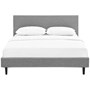 Emma Full Fabric Bed Frame Azure Frames Free Shipping