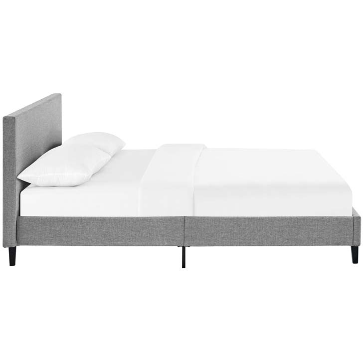 Emma Full Fabric Bed Frame - living-essentials