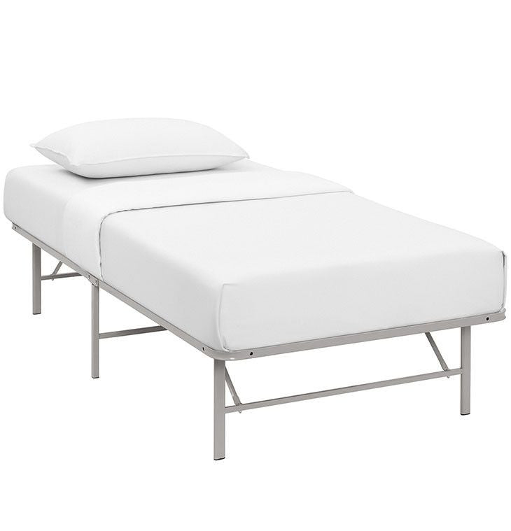Orion Twin Stainless Steel Bed Frame - living-essentials