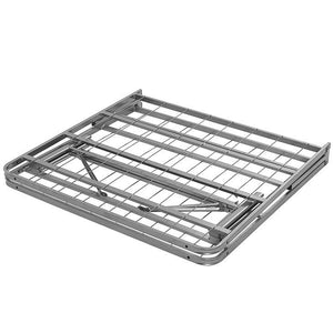 Orion Twin Stainless Steel Bed Frame White Frames Free Shipping