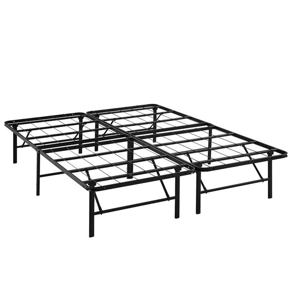 Orion Queen Stainless Steel Bed Frame - living-essentials