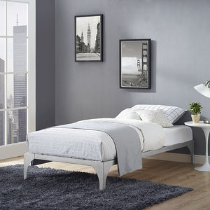 Gillie Twin Bed Frame Brown Frames Free Shipping
