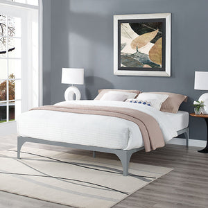 Gillie King Bed Frame Gray Frames Free Shipping