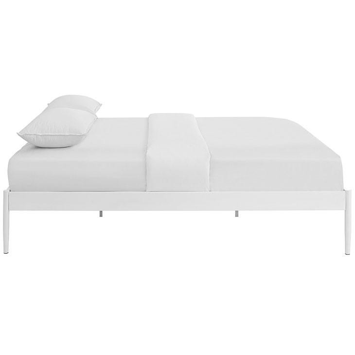 Chelsie King Fabric Bed Frame - living-essentials