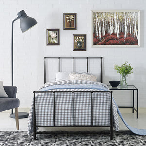 Squire Twin Bed Brown Frames Free Shipping