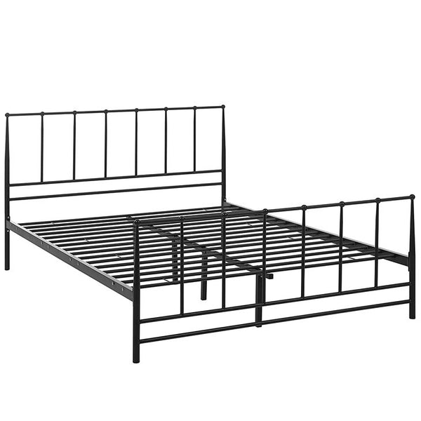 Squire Queen Bed - living-essentials
