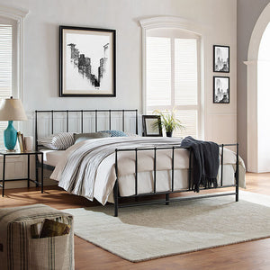 Squire King Bed Brown Frames Free Shipping