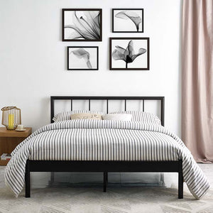Gerri Queen Bed Frame Brown Frames Free Shipping