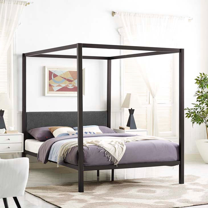 Rain Queen Canopy Bed Frame - living-essentials