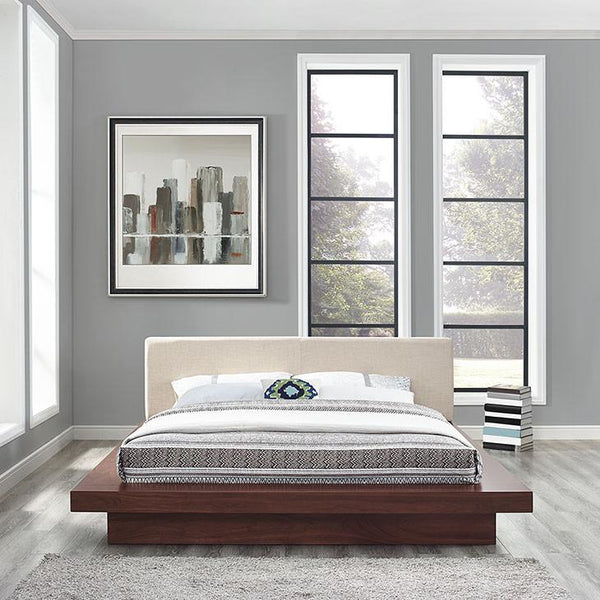 Fiona Queen Fabric Platform Bed - living-essentials